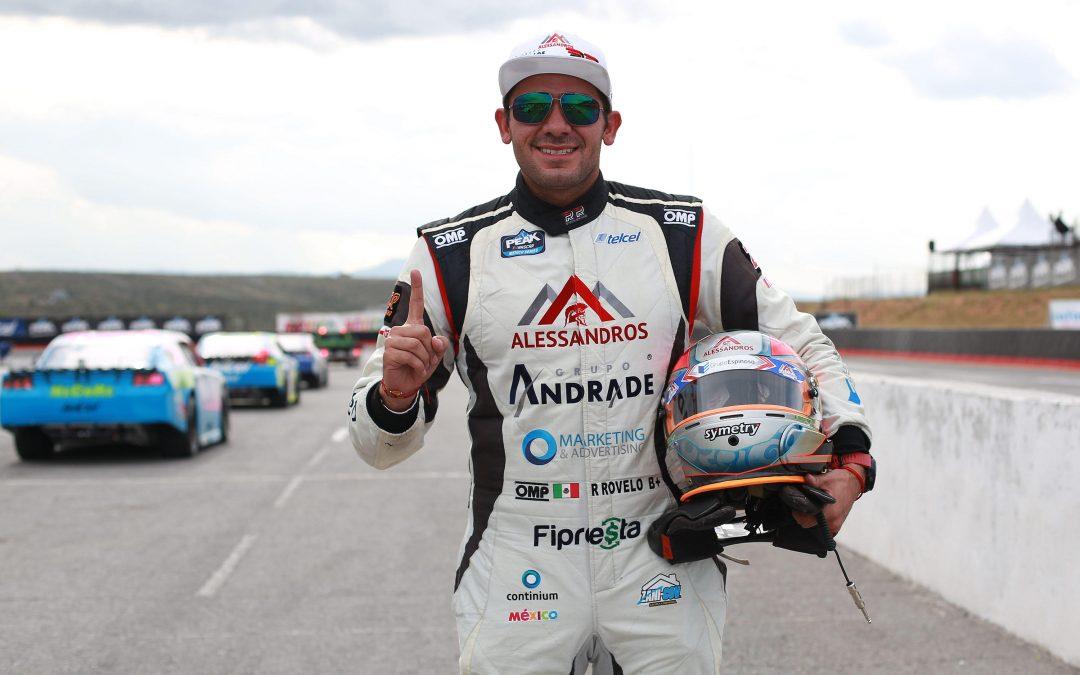 RUBEN ROVELO SE QUEDÓ CON LA POLE DE LA NASCAR PEAK EN SAN LUIS POTOSI